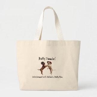 Große Stier-Terrier-Taschen-Tasche Jumbo Stoffbeutel