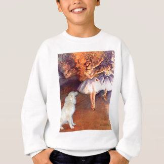 Große Tänzer Pyrenäen 6 - zwei Sweatshirt