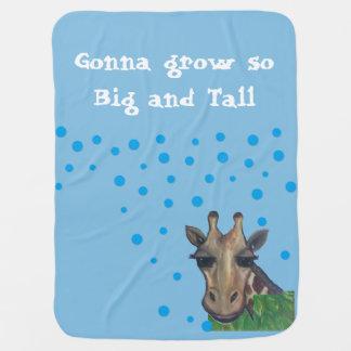 Große und hohe Giraffen-Baby-Decke Babydecke