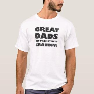 Große Vatis erhalten gefördert (Vintag) T-Shirt