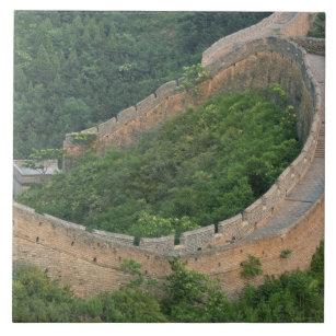 Große Wand der China bei Jinshanling, China Keramikfliese