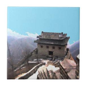 Große Wand der China Keramikfliese