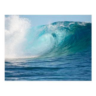 Große Welle des Pazifischen Ozeans, die Postkarte