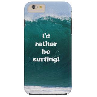 Große Welle würde ich vielmehr Handy-Abdeckung Tough iPhone 6 Plus Hülle