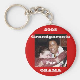 Großeltern für Obama Schlüsselanhänger