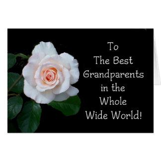 Großeltern-Tagesgruß-Karte Grußkarte