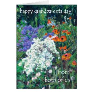 Großeltern-Tageskarte - von beiden von uns - Karte
