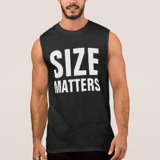 Größen-Angelegenheiten Ärmelloses Shirt
