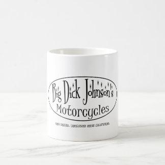 Großen Motorräder Dicks Johnsons Kaffeetasse