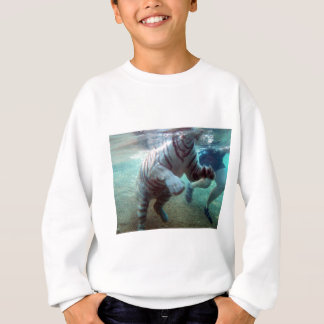 Großer Abenteuer-Tiger Sweatshirt