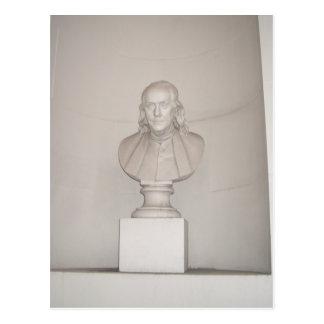 Großer Ahne Ben Franklin USA Amerika am 4. Juli Postkarte