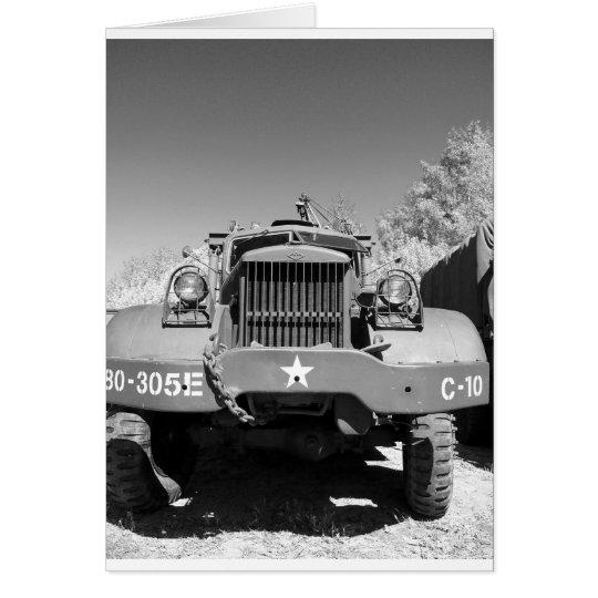 Großer Armee-LKW Karte