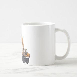 Großer Bagger-Bagger Kaffeetasse