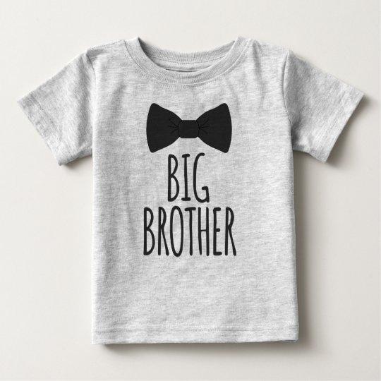 Großer Bruder Bowtie Baby T-shirt
