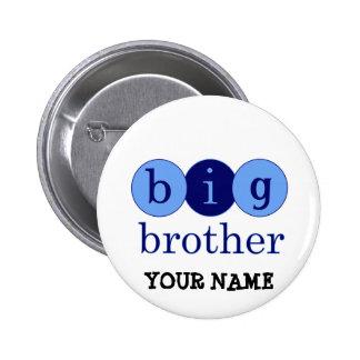 Großer Bruder - Kreise Runder Button 5,7 Cm