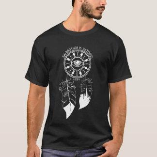 Großer Bruder passt Dreamcatcher T auf T-Shirt