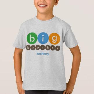 Großer Bruder punktiert personalisierten T - Shirt