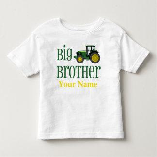 Großer Bruder-Traktor-personalisierter T - Shirt