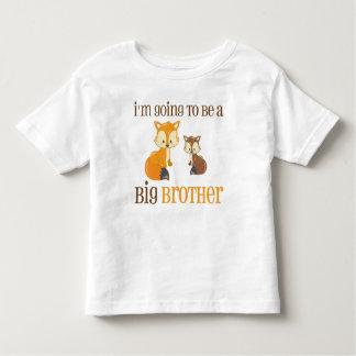 Großer Bruderfox-Shirt Kleinkind T-shirt