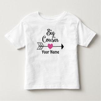 Großer Cousin-Pfeil-personalisierter T - Shirt