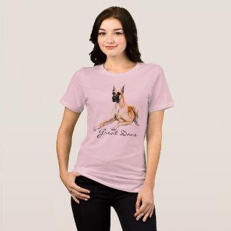 Großer Däne-Hundekunst-T - Shirt