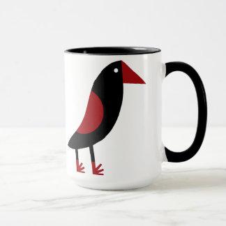 Großer glücklicher Vogel Tasse