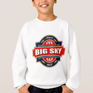 Großer Himmel-alter Aufkleber Sweatshirt