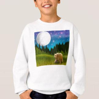 Großer Himmel-Graubär scherzt Sweatshirt