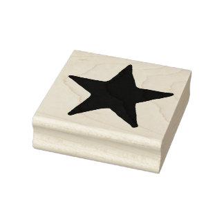 Großer Land-Stern-Gummikunst-Briefmarke Gummistempel