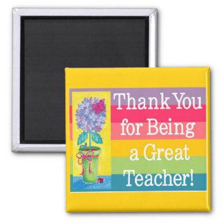 Großer Lehrermagnet Quadratischer Magnet