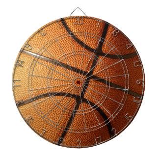 Großer Leuchtorange-Basketball, Dartscheibe