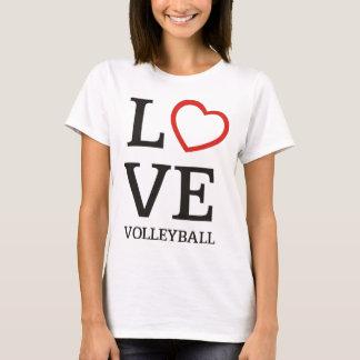 Großer LIEBE Volleyball T-Shirt