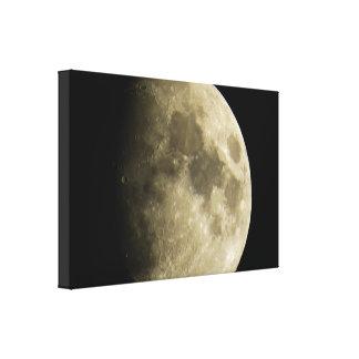 Großer Mond-Leinwand-Druck Leinwanddruck
