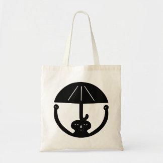 Großer Regenschirm Budget Stoffbeutel