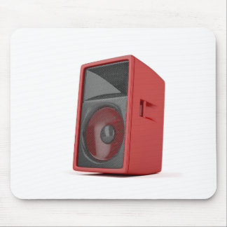 Großer roter Lautsprecher Mousepad
