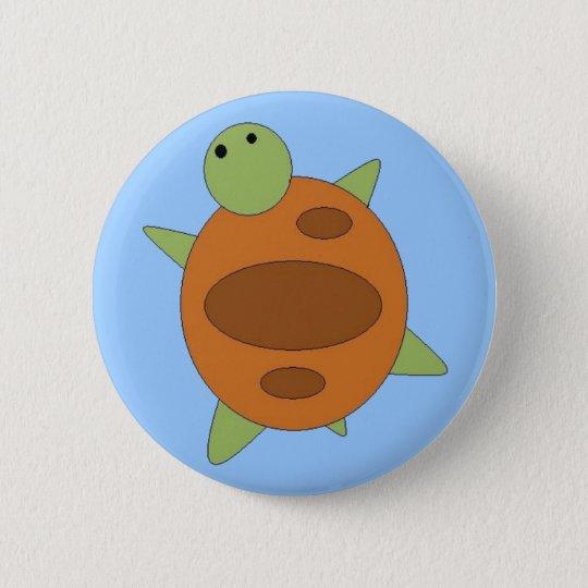 Großer Schildkröte-Knopf Runder Button 5,1 Cm