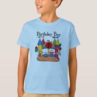 Großer Schlag-Jungen-7. Geburtstags-T-Shirts und T-Shirt
