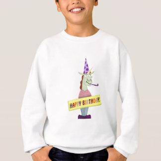 Großes alles- Gute zum GeburtstagEinhorn Sweatshirt