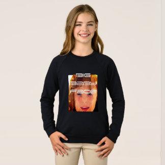 großes Babygesicht tesshirt Sweatshirt