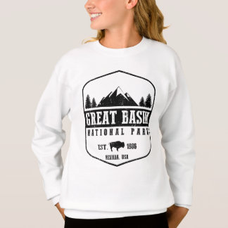 Großes Becken-Nationalpark Sweatshirt