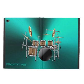 Großes Felsen-Trommel-Set-iPad Air ケース für