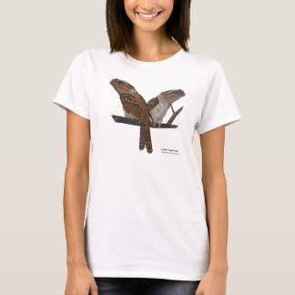 Großes Frogmouth T-Shirt