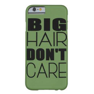 Großes Haar interessieren sich nicht Barely There iPhone 6 Hülle