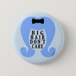 Großes Haar interessieren sich nicht #Keuxties Runder Button 5,7 Cm
