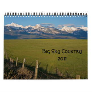 Großes Himmel-Land 2011 Wandkalender