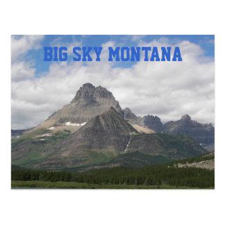 Großes Himmel-Montana-Reise-Foto Postkarte