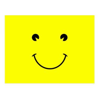 Großes Lächeln Postkarte