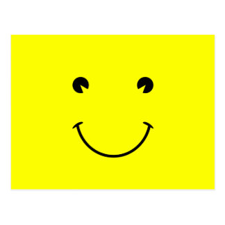 Großes Lächeln Postkarten