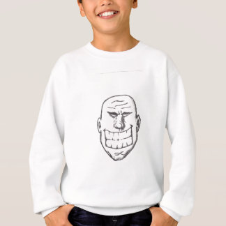 Großes Lächelnlogo Sweatshirt