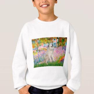 Großes Pyrnees 9 - Garten Sweatshirt